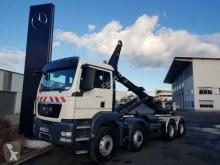 Kamión MAN TGS 35.400 8x6 Hydro-Drive Meiller 30 65 TSK vozidlo s hákovým nosičom kontajnerov ojazdený