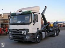 Camião Mercedes Actros 2541 L6x2 Abrollkipper Meiller RK 20.70 poli-basculante usado
