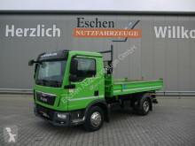 MAN TGL 8.180 BB, Meiller 3-Seiten, 3 Sitze, 2 AHK truck used three-way side tipper