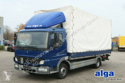 Camion cu prelata si obloane Mercedes 815 L Atego 4x2, MBB LBW, 6.200mm lang, Luft