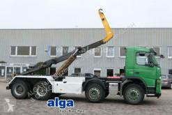 Volvo skip truck FM 440 8x4, Moser-Aufbau, Knickhaken, Euro 5