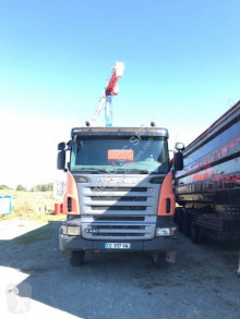 Scania two-way side tipper truck R 143R420