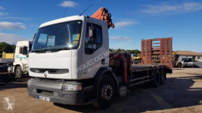 Camion Renault transport utilaje second-hand