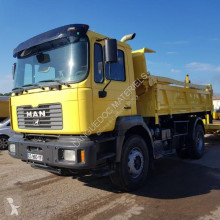 MAN two-way side tipper truck 19.314