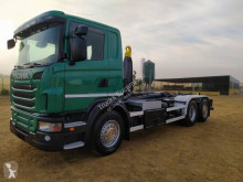 Scania G 420 truck used hook arm system