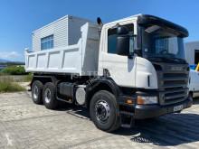 Camión Scania P 380 volquete volquete bilateral usado
