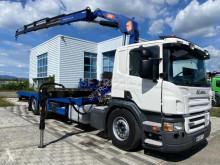 Camión portamáquinas Scania P 380