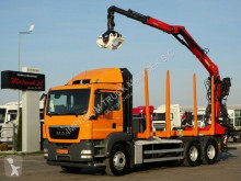 Camion trasporto tronchi MAN TGS 26.440/6X4/L: 6,4M/ EPSILON M110Z/FOR WOOD /