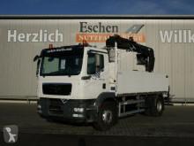 Camión MAN TGM 18.290 4x2 BL, HIAB 144D3 Pro, 5.+6. Kreis caja abierta teleros usado