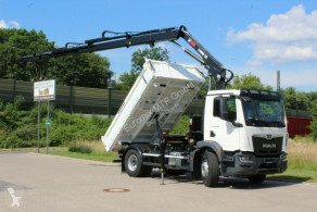 MAN TGM 18.320 4x2 Euro6d Fassi 135 AC.0.24 e-dynami truck used tipper