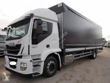 Iveco ponyvával felszerelt plató teherautó Stralis