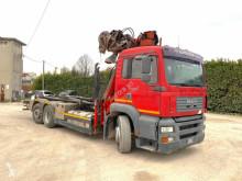 MAN hook arm system truck 460 SCARRABILE BALESTRATO ANTERIORE E PNEUMATICO P
