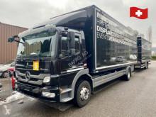 Camion cu remorca Mercedes 1529- anhängerzug furgon second-hand