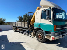 DAF straw carrier flatbed truck 75 ATI 300