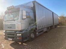 Ciężarówka firanka MAN TG