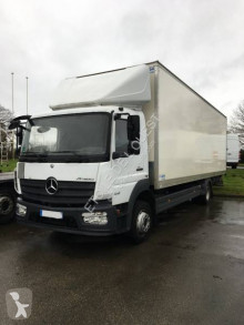 Mercedes plywood box truck Atego 1218 NL