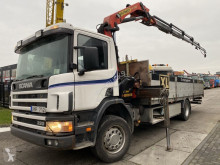 Scania flatbed truck G