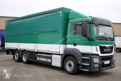 MAN tarp truck TGS 26.400 6X2 Koffer/Schiebeplane LBW Lenkachse