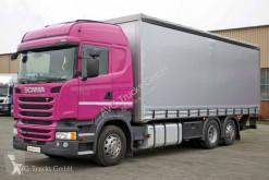 Camion savoyarde Scania R 410 6X2*4 Schiebeplane Lenkachse etade ACC