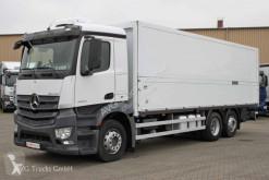 Camion fourgon Mercedes Antos 2540 L Getränkekoffer LBW Lenkachse AHK
