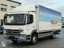 Camión Mercedes Atego 1222 *Euro 5*LBW MBB*TÜV*AHK*Blatt/Luft* caja abierta transporte de bebidas usado