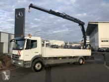 Kamión Mercedes Atego 1529 L Pritsche/Heckkran Hiab XS 111 Funk valník bočnice ojazdený