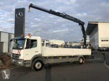 Mercedes Atego 1529 L Pritsche/Heckkran Hiab XS 111 Funk truck used flatbed
