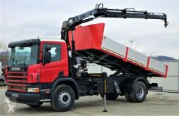 Camion ribaltabile Scania 94 230 Kipper 5,40m +Kran**Topzustand