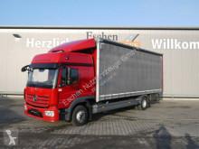 Camion centinato alla francese Mercedes 1224 L New Atego, BigSpace, Junge + Edscha, AHK