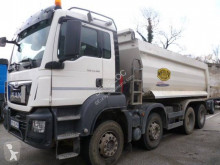 MAN half-pipe tipper truck TGS 41.480