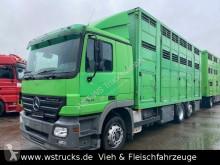 Camión remolque para caballos Mercedes Actros 2541 Menke 3 Stock Vollalu