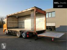 Camião MAN TGX 26.400 6x2-2 BL/ Elekt. Faltwand / Lenkachse furgão usado
