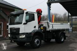 Camion benne MAN TGM 18.320 4x4 Euro6d Fassi 135 AC.0.24 e-dynami