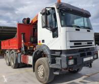 Camion Iveco CABEZA TRACTORA IVECO 440 6x6 + VOLQUETE + PALFINGER PK 36002 + ribaltabile usato
