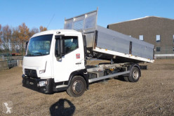 Renault three-way side tipper truck Gamme D