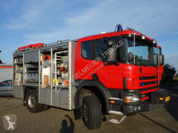Scania P114 truck used fire