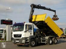 Ciężarówka platforma MAN TGS 26.360/6X4-HYDRODRIVE/BORTMATI HIAB 166
