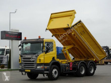 Camion Scania P 380 / 6X4/ 2 SIDED TIPPER/BORTMATIC/ MANUAL benne occasion