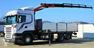 Ciężarówka Scania R480 Pritsche 6,50m +Kran/FUNK *6x2*Topzustand! platforma używana
