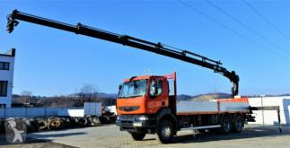 Ciężarówka platforma Renault Kerax 410 DXI*Pritsche7,10m+Kran/FUNK*To