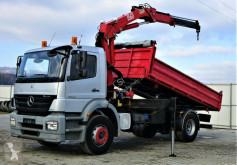 Ciężarówka platforma Mercedes Axor 1823 Kipper 4,50m + Kran*Topzustand