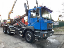 Camion MAN 27.314 - - STEEL SPRING / SUSP LAMES - BIG AXLES HUB REDUCTION / GRAND PONTS REDUCTEURS polybenne occasion