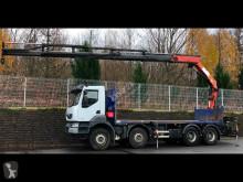 Renault flatbed truck Kerax 410.32 8x4 Plateau Grue Euro 5