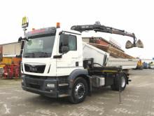 MAN tipper truck TG-M 18.250 4x2 BL 2-Achs Kipper Kran Euro 6 Greifer