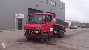Mercedes 406 D (FULL STEEL SUSPENSION /SUSPENSION LAMES) truck used tipper