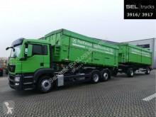MAN cereal tipper trailer truck TGS TGS 26.400 6x2-2 LL / Agrar / Lenkachse
