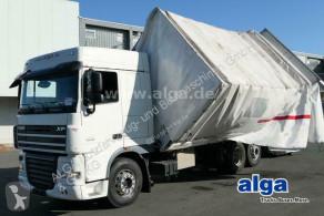 Camión lona corredera (tautliner) DAF XF 105.460, 2-Seiten-Kipper, LBW, AHK, Retarder