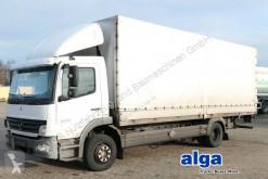 Camião caixa aberta com lona Mercedes 1224 l Atego 4x2, 7.200mm lang, Euro 4, AHK, LBW