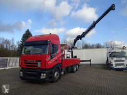 Iveco truck Pritsche - Hiab Kran - Containerverrieglung