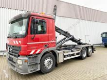 Camión Mercedes Actros 2541 L 6x2 2541 L 6x2 mit Liftachse, Grüne Plakette Gancho portacontenedor usado